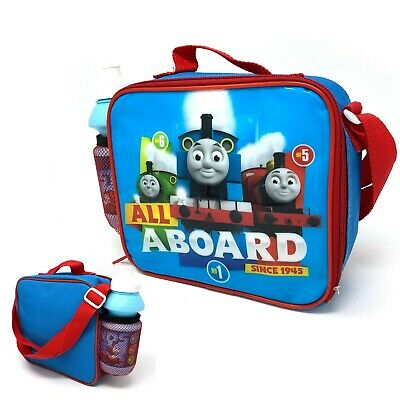 Thomas & Friends Insulated Lunch Bag With Extendable Shoulder Strap & Bottle New • 12.99£
