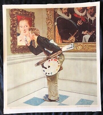 $ CDN5015.60 • Buy Norman Rockwell,  The Critic  Signed Limited Edition
