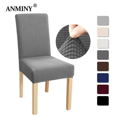 Dining Chair Covers Washable Stretch Chair Slipcover Removable Chair Protector • 4.99£