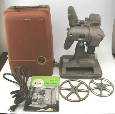 $ CDN135.53 • Buy Vintage Revere Model 85 8mm Film Projector W/ Case Excellent Condition Tested