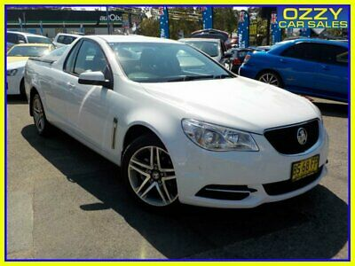 AU12950 • Buy 2014 Holden Ute VF White Automatic 6sp A Utility