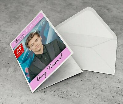 £2.95 • Buy HARRY STYLES Personalised Birthday Card For Girlfriend Daughter Girls Cousin