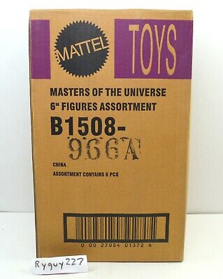 $450 • Buy MOTU, He-Man Figures Lot Sealed Shipping Case, Masters Of The Universe 200x, Box
