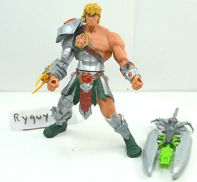 $105 • Buy MOTU, Snake Armor He-Man, 200x, Complete, Figure, Masters Of The Universe