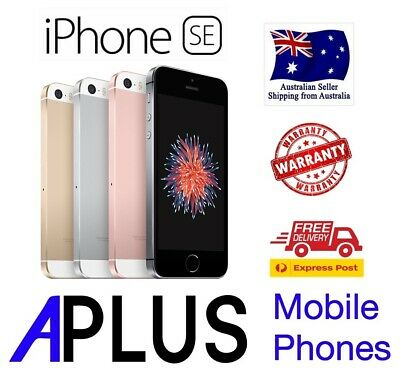 AU240 • Buy IPhone SE 16GB/32GB/64GB 100% GENUINE AND WORKING (FREE EXPRESS SHIPPING)