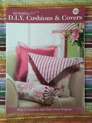 AU12.50 • Buy Get Creative - D.i.y. Cushions & Covers - 17 Cushion And Chair Cover Projects