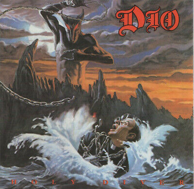 Dio - Holy Diver CD (early Canadian Release) • 8.99£