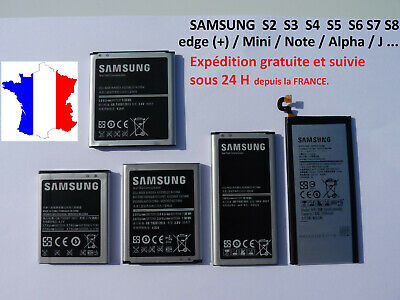 AU31.50 • Buy Battery For Samsung Galaxy S2 S3 S4 S5 S6 S7 S8 S9 S10 + Edge+ Mini Note J3