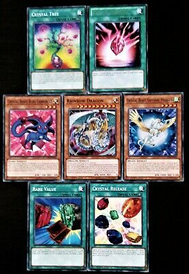 AU7.95 • Buy YuGiOh 7 Card Crystal Beast And Related Card Set