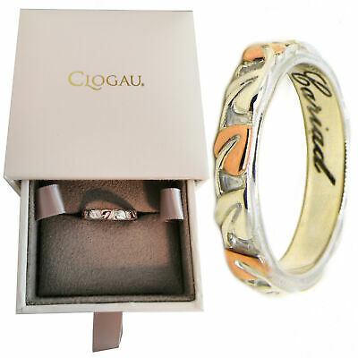 Clogau Size K,M,P,Q,R,S Tree Of Life Silver Welsh 9ct Rose Gold Ring Gift Wrap • 69£