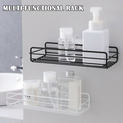 AU21.10 • Buy Kitchen Bathroom Shower Shelf Storage Suction Basket Caddy Wall Mounted Rack