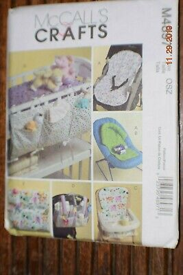 AU5.18 • Buy McCall's 4897 Baby Nursery & Travel Accessories  Uncut FF