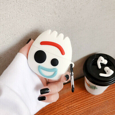 $ CDN6.13 • Buy For AirPods Pro Case 3D Cute Cartoon Forky Silicone Earphone Charging Case Cover