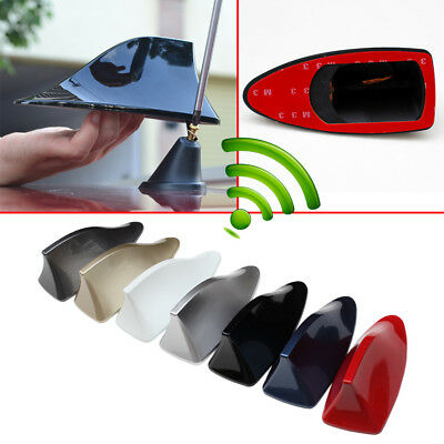$ CDN12.57 • Buy Car Universal Parts AM FM Radio Shark Fin Roof Antenna Signal Aerial Decoration
