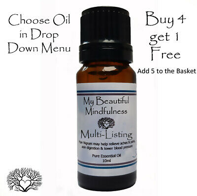 10ml Pure Essential Oil Natural Massage Aromatherapy Multi-Listing Various Oils • 1.99£