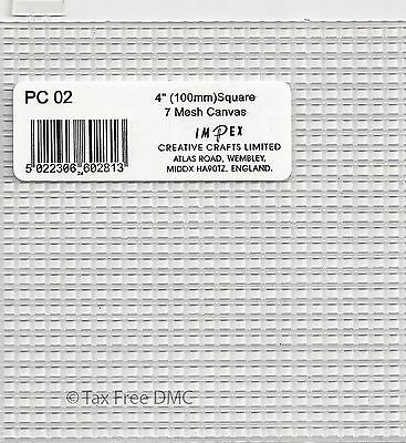 £1.99 • Buy One Sheet Of Impex 7 Count Plastic Canvas Square Coaster Size 4  X 4  New