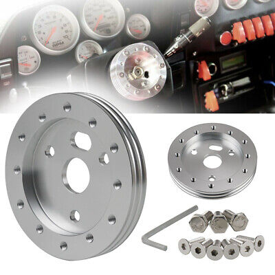 $13.99 • Buy Universal 0.5  Steering Wheel Hub Adapter Spacer 6 Hole To Fits Grant Superior