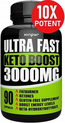 $20.88 • Buy Ultra Fast Keto Boost Pills With 3000mg Helps Enhance Metabolism And Burning Fat