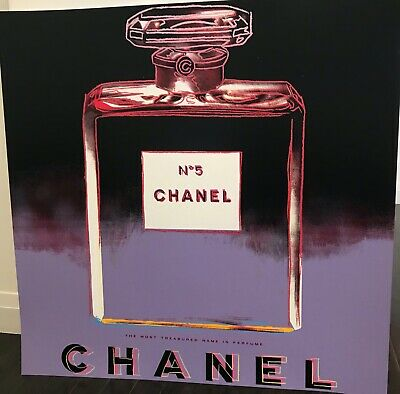 $3150 • Buy ANDY WARHOL Screenprint-  CHANEL  -Ads Suite -1985- Key Provenance Doc-GORGEOUS!