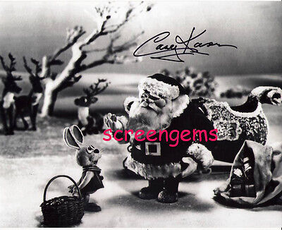 $49.95 • Buy  Here Comes Peter Cottontail  Signed Photo Casey Kasem Santa Claus Rankin Bass
