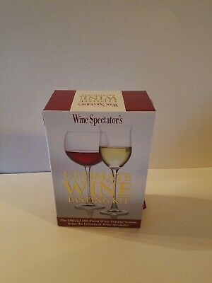 Wine Spectators Ultimate Wine Tasting Kit • 30$