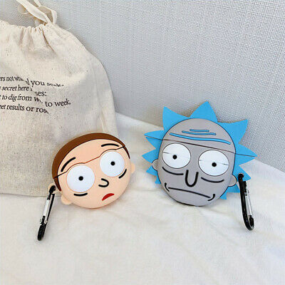 $ CDN6.52 • Buy For AirPods Pro Case Protective 3D Rick Morty Silicone Earphone Charging Cover