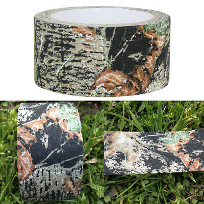 £6.59 • Buy 10m Waterproof Camo Gun Hunting Camping Camouflage Stealth Tape Wrap Tools UK