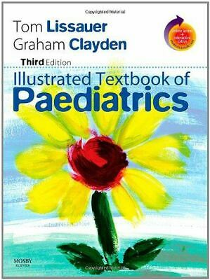 Illustrated Textbook Of Paediatrics: With STUDENT CONSULT Online Access [Paperba • 12.39£