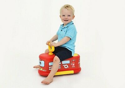 Fire Engine Truck Ride On Car Push Along Toy For Toddlers 1 To 2 Years Old • 17.99£