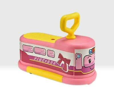 Pink Ride On Car / Bus Push Along Toy For Toddlers - 1 To 3 Year Olds • 17.99£