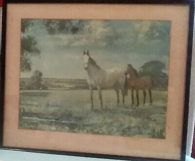 £65 • Buy Lionel Edwards Print Mare And Foal