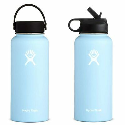 Bottle Frost Hydro Flask Stainless Steel Water Insulated Wide Mouth Cap 32 40oz • 32.24$