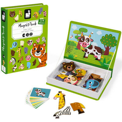 Janod Animals Magneti' Book - Early Development Games • 17.99£