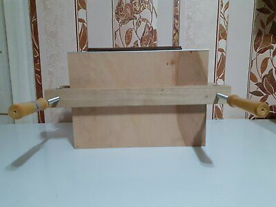 Wooden Book Press, Laying Press, Finishing Press, With Boards • 87£
