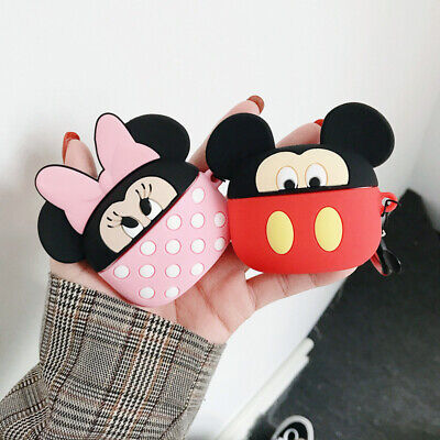 $ CDN6.29 • Buy For AirPods Pro 2 1 Case 3D Mickey Minnie Silicone Earphone Charging Cover