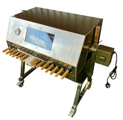 £599.99 • Buy Large Cypriot BBQ Spit Rotisserie Hog Roast Machine In Stainless Steel
