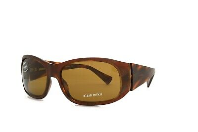 £63.73 • Buy Alain Mikli SUNGLASSES Brown 1060 0002 New Authentic 58mm