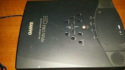 Sanyo PLV-80L LCD Projector Untested Parts Or Repair • 29.99$