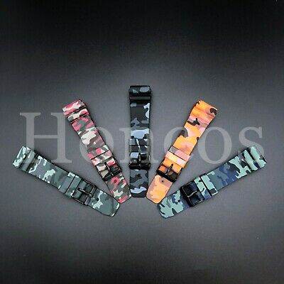 $ CDN15.70 • Buy 22 MM Silicone Rubber Watch Band Strap Fits Seiko Diver Camouflage SKX USA Camo