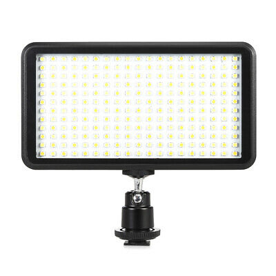 228 LED Video Light Studio Lamp Panel For Nikon Canon DSLR Camera Camcorder M5B6 • 17.97£