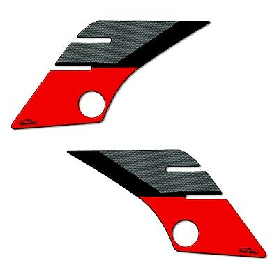 AU68.69 • Buy Stickers 3D Guards Side 03 Compatible With Yamaha Tenere 700 2019 Red