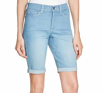 $44.97 • Buy NYDJ Not Your Daughters Jeans Briella Bermuda Shorts Palm Bay 4 6 8 10 12 14 16