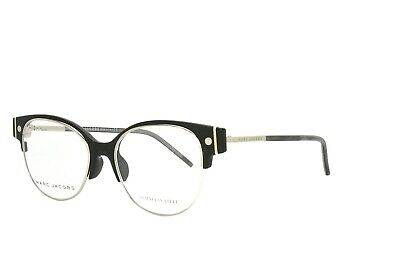 $44.90 • Buy Marc Jacobs Eyeglasses Black Silver 6 U53 New Authentic 50-17-140