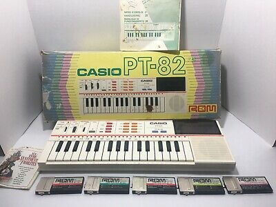 $37.99 • Buy Casio PT-82 Keyboard Vintage Synthesizer World Songs ROM Circuit Bending Inop