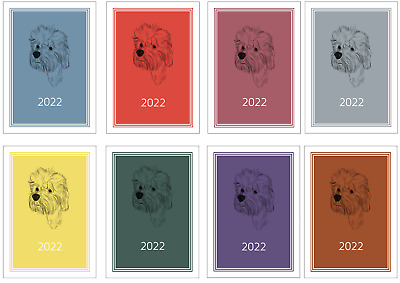 £7.99 • Buy Dandie Dinmont Terrier 2022 A5 Week View Diary NORMAL/DOG SHOW DATES/APPOINTMENT