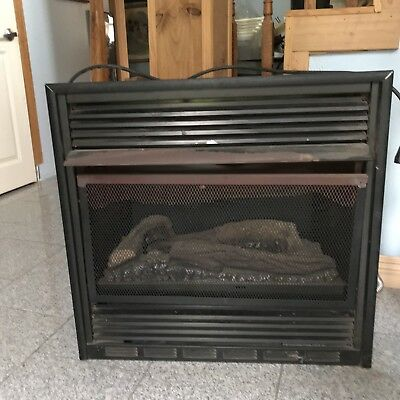 $35.99 • Buy Embedded Electric Fake Logs Fireplace Insert Heater With Blower 36 W X24 H X31 D