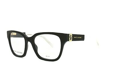 $44.90 • Buy Marc Jacobs Eyeglasses Black 250 807 New Authentic 51-19-140