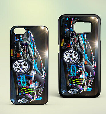 Rally Car Racing Motorsport Block Stickers Art Gift Hard Phone Case Cover • 4.49£