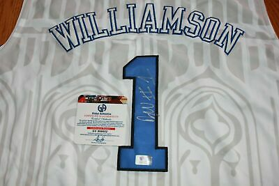 $465 • Buy Zion Williamson Duke Autographed Basketball Jersey Hand Signed W/ COA Pelicans