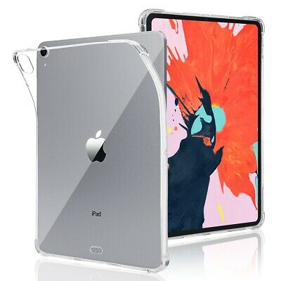 AU19.99 • Buy For IPad Pro 12.9  (3rd Generation) 2018 Transparent Slim Silicon Soft TPU Case